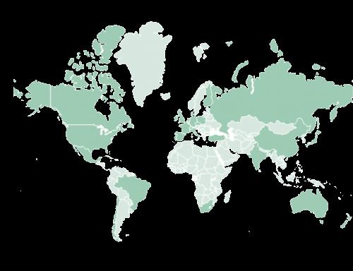 Países en los que hemos trabajado - TeaCup Lab Madrid
